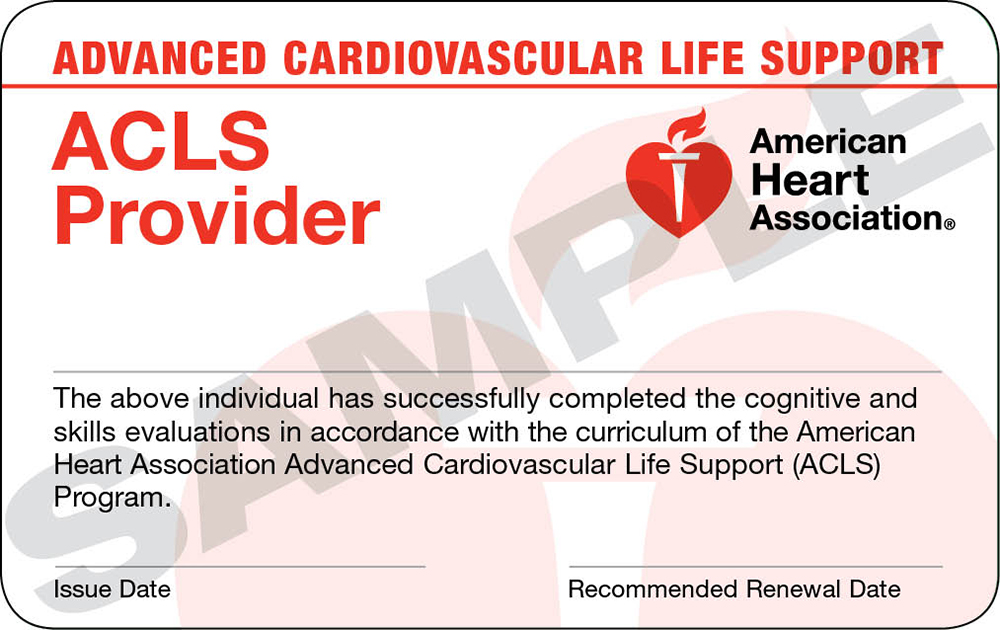Advanced Cardiac Life Support Acls Trio Safety Cpraed Solutions