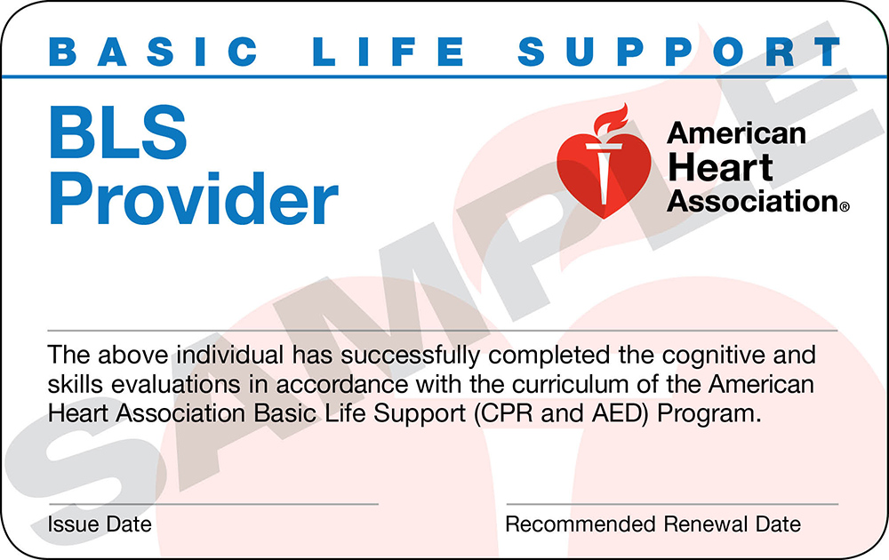 Basic Life Support Bls Provider Cpr Trio Safety Cpraed Solutions