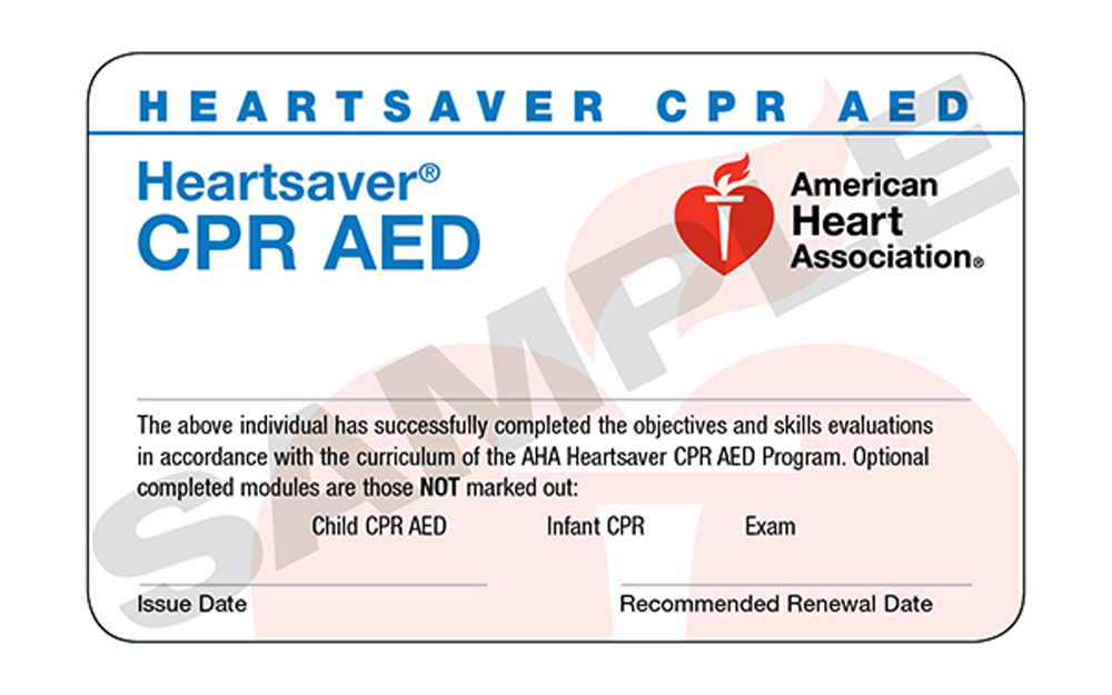 heartsaver® cpr aed – trio safety cpr+aed solutions
