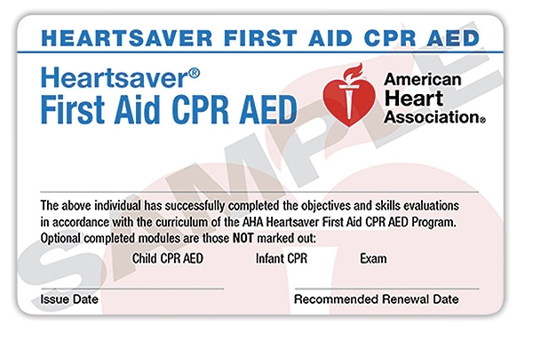 heartsaver® first aid cpr aed – trio safety cpr+aed solutions
