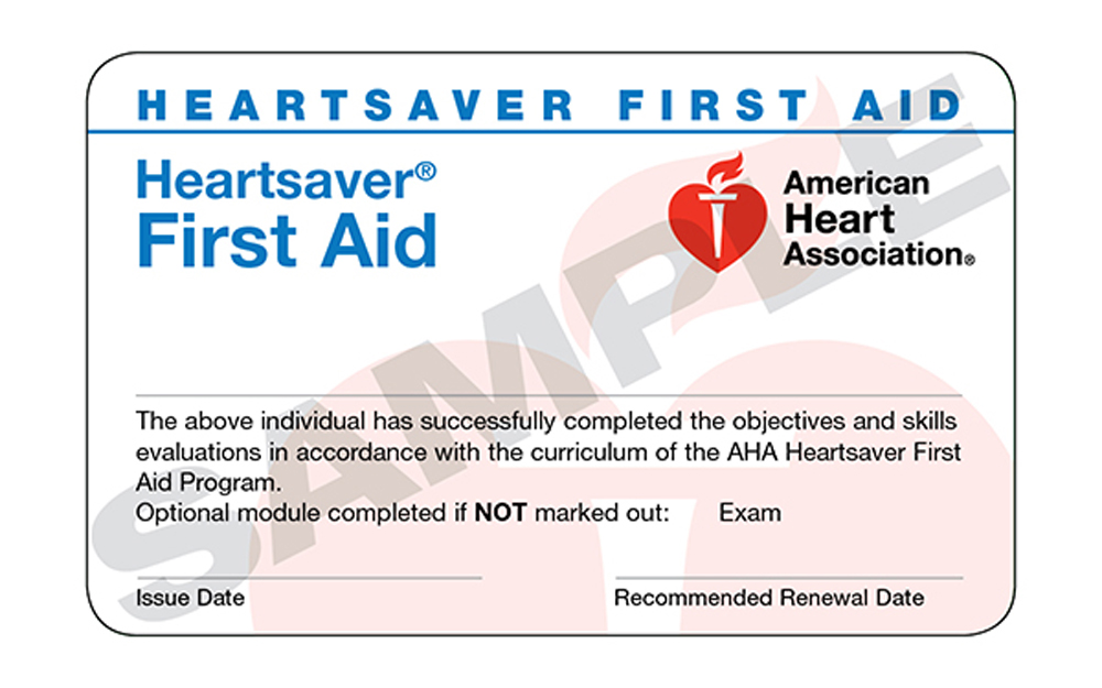 Heartsaver First Aid Trio Safety Cpraed Solutions