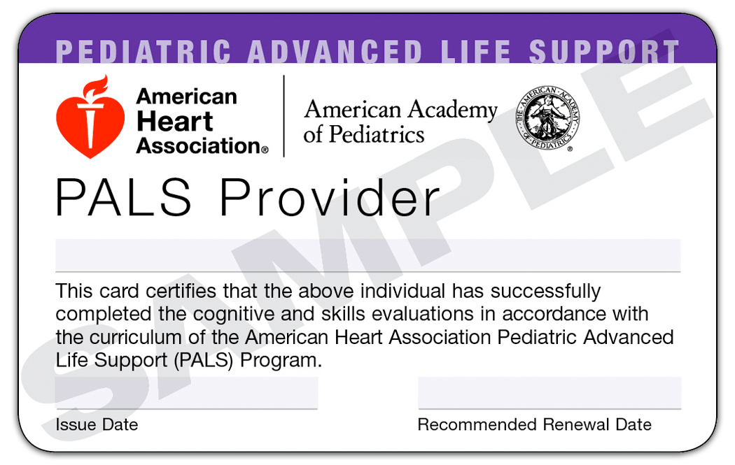 Pediatric Advanced Life Support Pals Trio Safety Cpraed Solutions