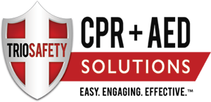 Trio Safety CPR+AED Solutions Logo