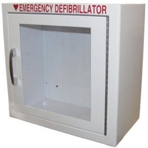 Compact AED Wall Cabinet, Surface Mount