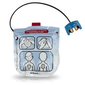 Defibtech Lifeline VIEW / ECG / PRO AED Pediatric Pads
