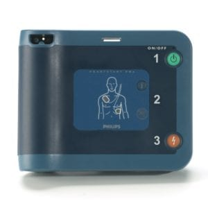 Philips HeartStart FRx AED with FREE Carry Case