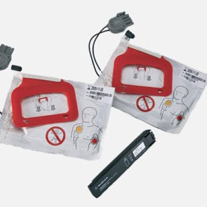 CR Plus/EXPRESS AED Battery & Pads (2 Sets)