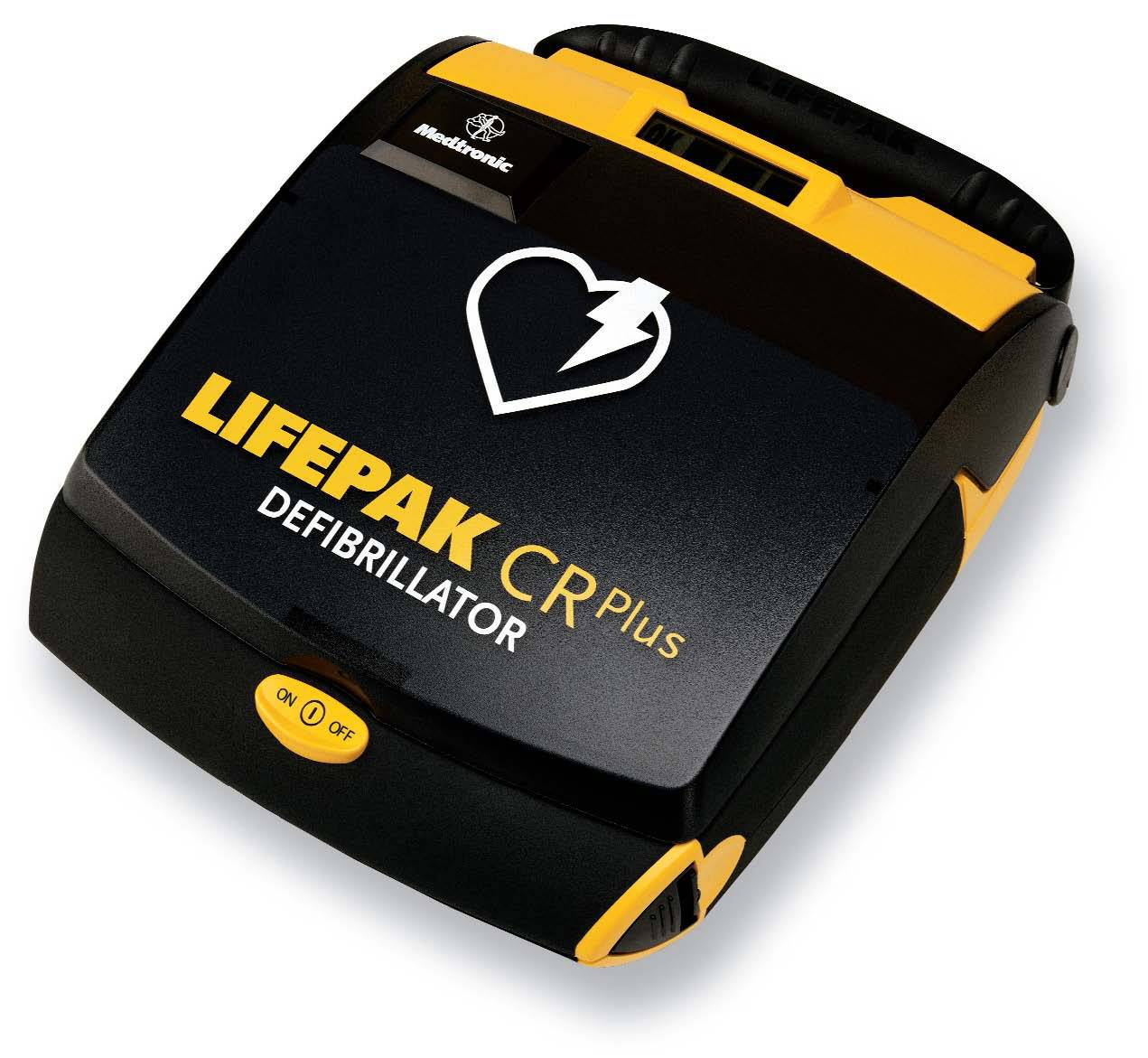 physio control lifepak cr plus aed fully auto no shock. Black Bedroom Furniture Sets. Home Design Ideas