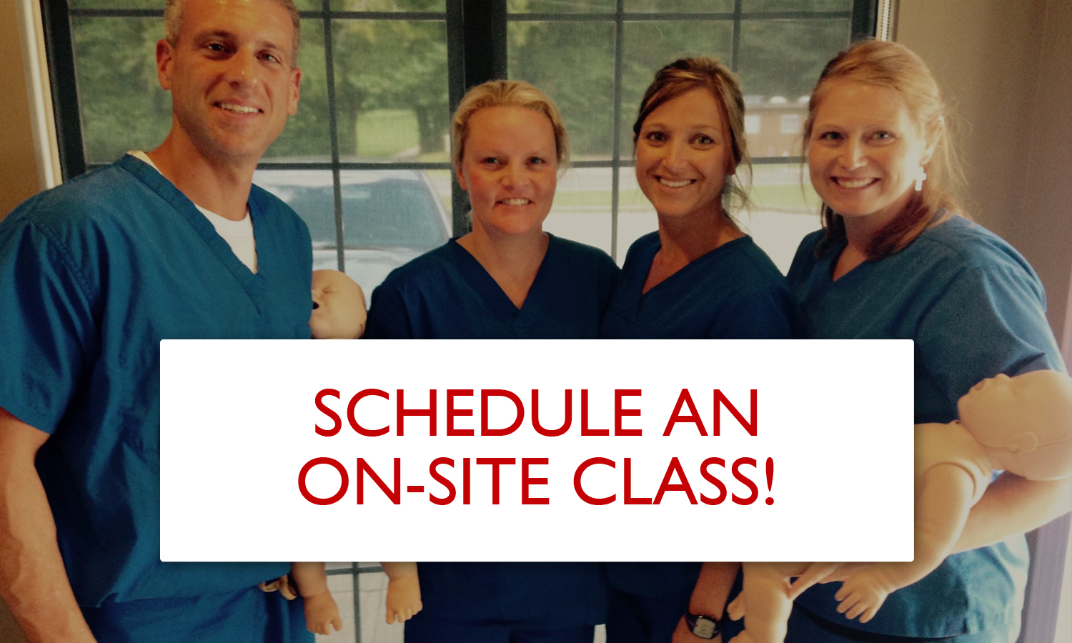 Schedule an On-Site Class!